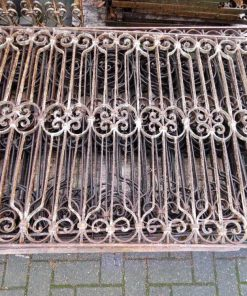 Antique wrought iron fencing-1