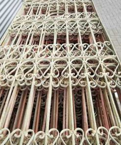 Antique wrought iron fences-2
