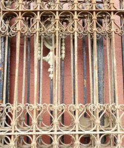 Antique wrought iron ornamental fences-2