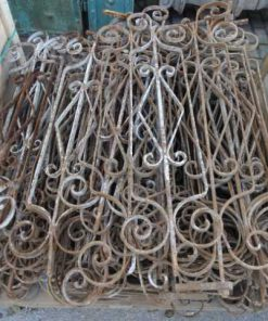 Decorative wrought iron racks-1