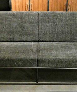Dark grey 2-seater Couch-1