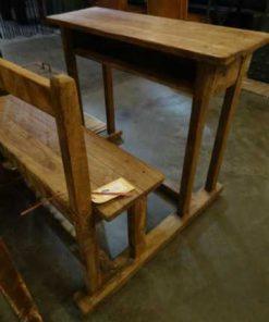 houten schoolbankje-3