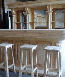 Engelse bar / toog van 260 cm-1