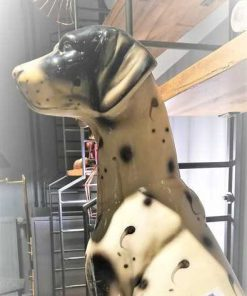Antique statue of a Dalmatian-3