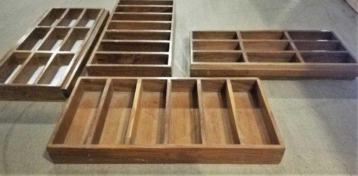 Decorative old wooden bins-1