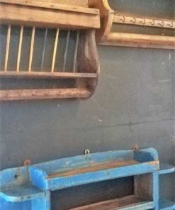 Vintage wooden kitchen racks-2