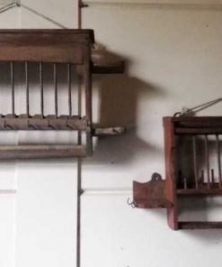 Vintage wooden kitchen racks-5