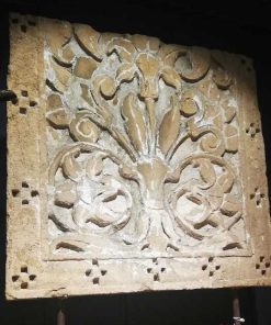 Antieke houten pop van ca 100 cm-2