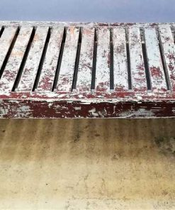 Vintage wooden bench / table-1