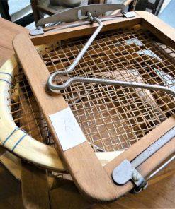 Oude Slazenger tennis racket-2