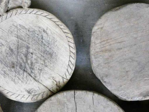 Houten chapati plates-4