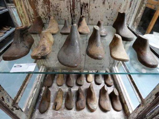 Antieke houten schoen leesten-1