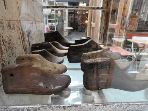 Antique wooden shoe lasts-5