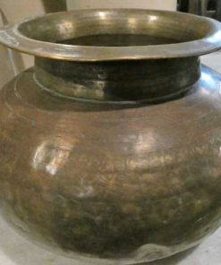 Copper colored water jars / pots / vases-5