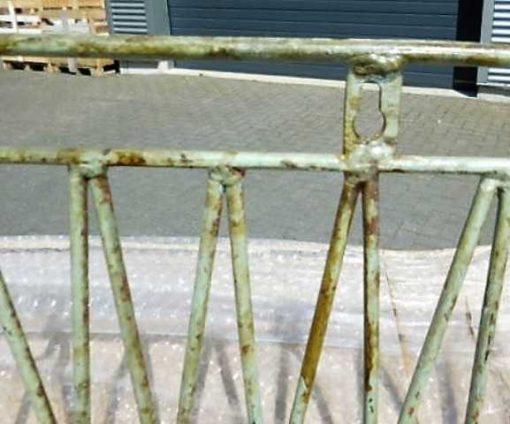 Vintage ijzeren planten hang rekjes / bakken-5