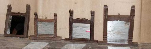 Mirrors with wooden frame-1