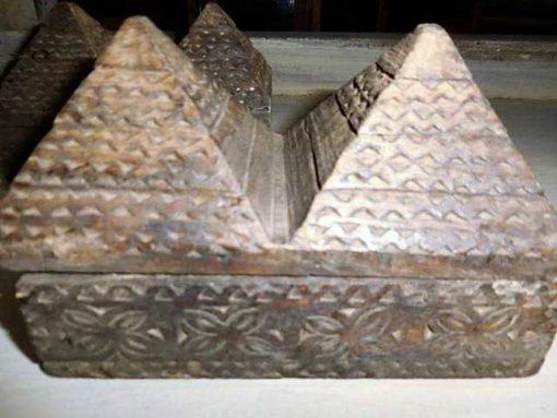 Decoratieve bewerkte houten doosjes-2
