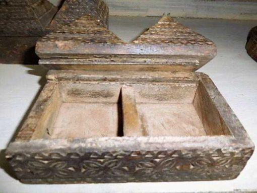 Decoratieve bewerkte houten doosjes-3