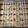 Small white wrought iron ornamental fences-1