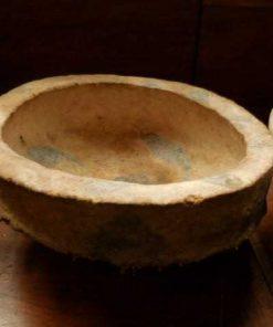 Decorative handmade pulp bowls-3