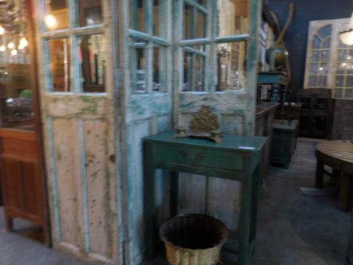 Antique teak room divider-3
