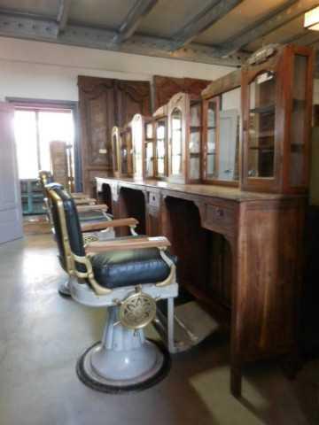 Vintage barber / hairdresser's chair-1