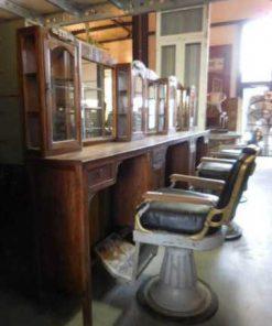 Vintage barber / hairdresser's chair-2