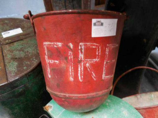 Old red extinguisher buckets-1