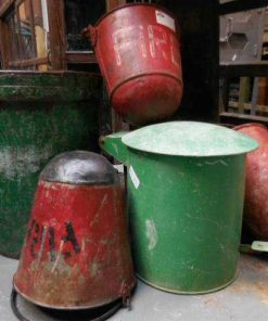Old red extinguisher buckets-3