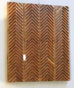 Antique wooden wall panel-5