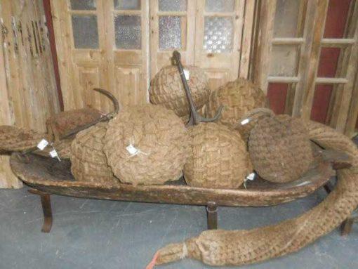 Old ship buoys / rope buoys-1