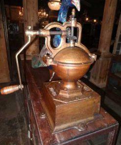 Antique coffee grinder-1