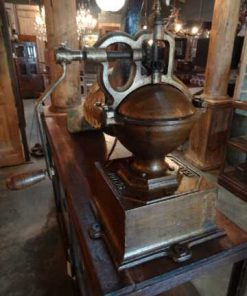 Antique coffee grinder-2