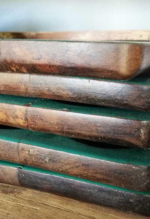 Wooden pen trays-2
