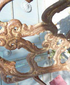 Cast iron chair-4