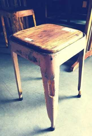 Vintage stools / side table-3