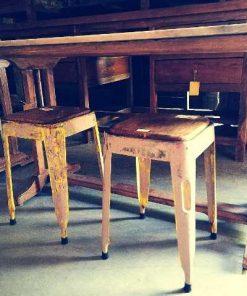 Vintage stools / side table-5