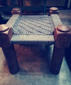 Vintage stool / side table-1