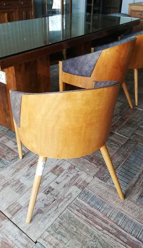 Vintage Wooden Chairs-2