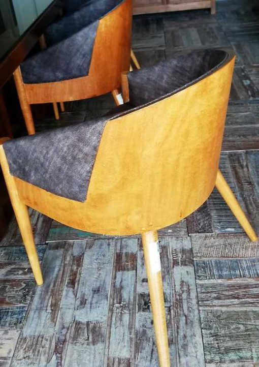 Vintage Wooden Chairs-3