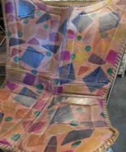 Sleek leather chair / armchair-4