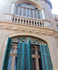 Antique windows and shutters-1