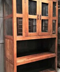 Antique teak cabinet-2