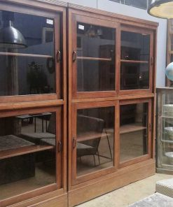 Antieke vitrine kasten-3