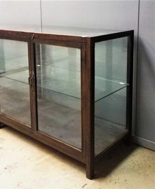 Large antique showcase counter-3