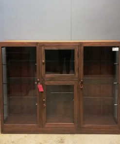 Antique ( hang ) showcase cabinet-1