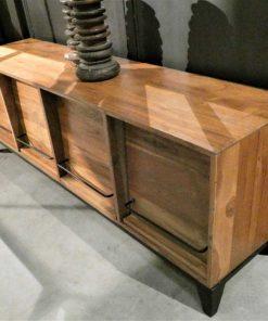 Tv-kastje / lage dressoir met kleppen-4