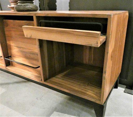 Tv-kastje / lage dressoir met kleppen-5
