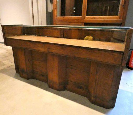Antique showcase counter-2