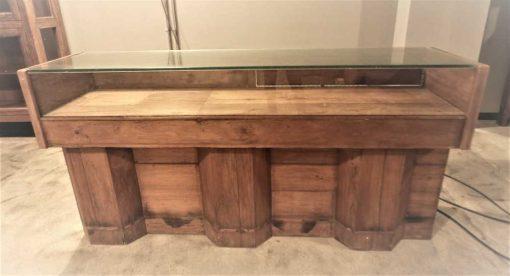 Antique showcase counter-5